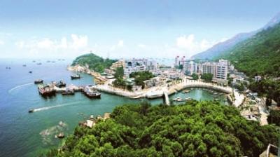 珠海万山建30万吨大型深水港(附图)
