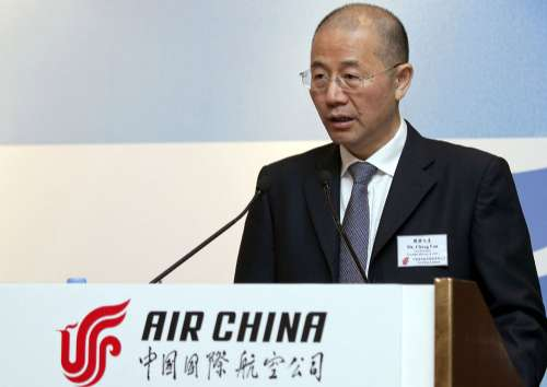 图:国航副总裁樊澄表示,国航将恢复从事航油对冲 彭博社