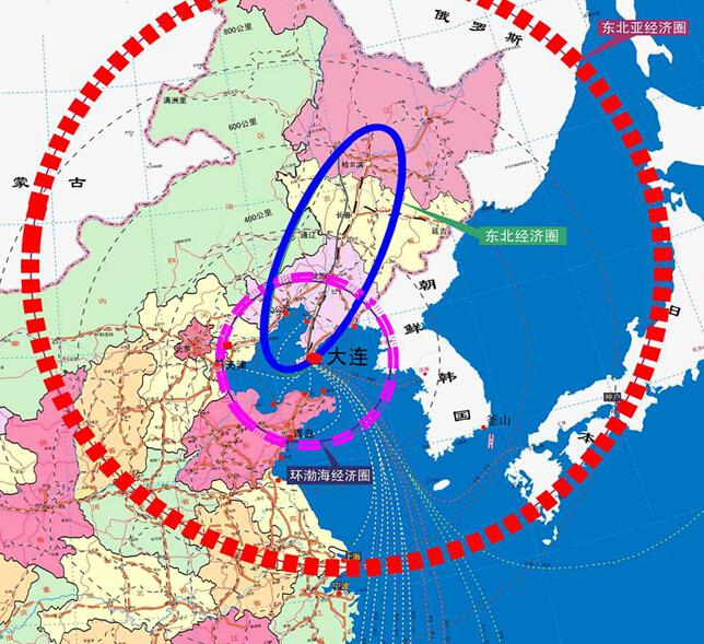 推进大连东北亚国际航运中心,东北亚国际物流中心,区域金融中心的建设图片