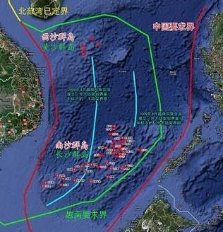 南海争端:中国捍卫南海主权的决心不会动摇(附图)
