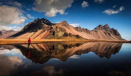 摄影师拍冰岛环岛公路美景