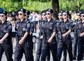 G20杭州峰会女子巡逻队现身西湖 引游客围观