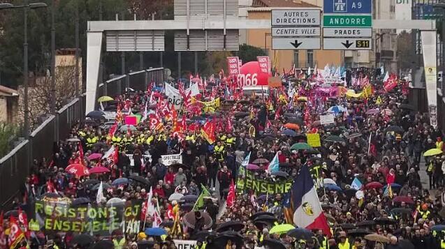 法国大罢工跟踪报道,物流全面瘫痪,罢工将持续延长!(附图)