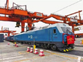 西部陸海新通道海鐵聯運班列全年發送貨物同比激增163%(附圖)