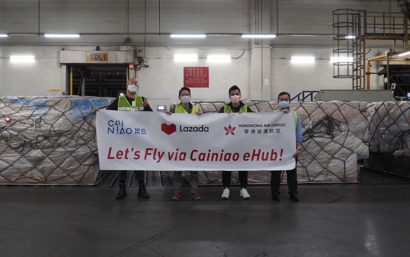 菜鸟与香港货运航空达成合作 东南亚包裹实现3日送达 B