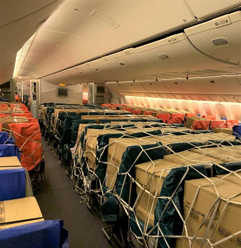 阿联酋航空SkyCargo货运部再创里程碑