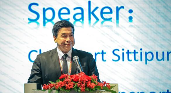 泰国前交通部长致辞
